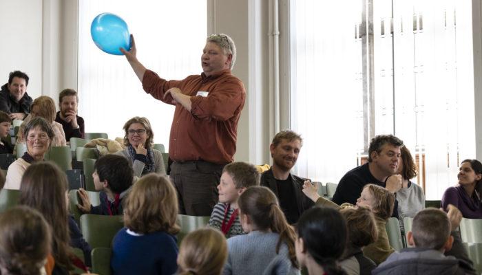 Peter Visser Met Ballon